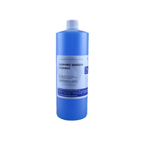 Window & Glass Cleaner Sapphire Non Streak Concentrate Refill 1 Litre