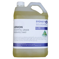 Lemon Hospital Grade Disinfectant 5 Litre