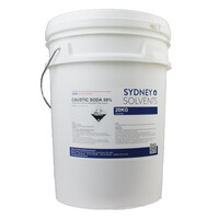 Caustic Soda Pearl Sodium Hydroxide Lye 20kg Bucket