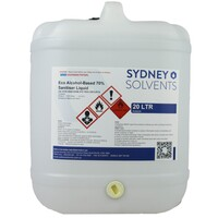 Eco Alcohol-Based 70% Sanitiser Liquid 20 Litre