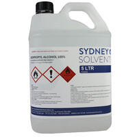 IsoPropyl Alcohol - IPA Isopropanol 100% 5 Litre
