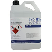 IsoPropyl Alcohol - IPA Isopropanol 70% 5 Litre