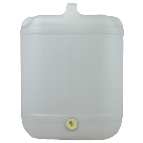 Empty 20 Litre Drum Holds Variety of Solvents