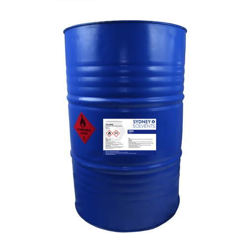 Toluene 200 Litre Excisable *****